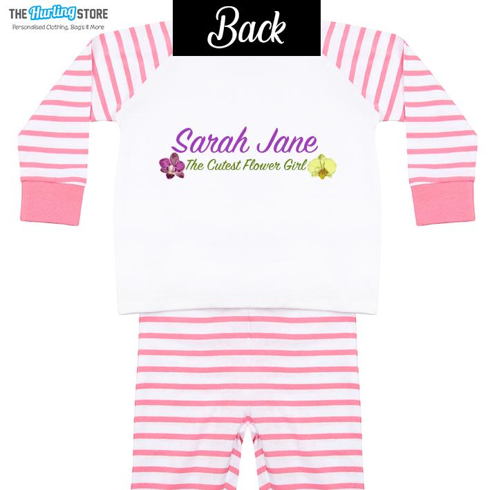 Flower Girl Pajamas